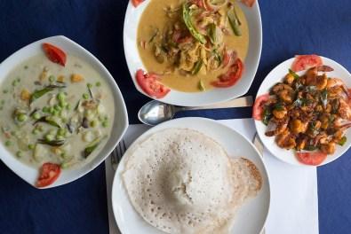 Casa Linda, fish molee, Ishtoo, coconut prawns, appam, Kochi, Fort Kochi, Cochin, Kerala, South India, India, Faces Places and Plates blog