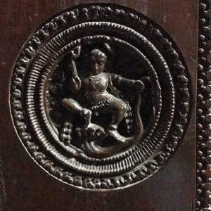 wood door carving, Chettiar mansion, Karaikudi, Tamil Nadu, South India, India, Faces Places and Plates blog