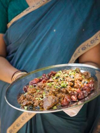 Chettinad Mutton Fry, Uppu Kari, The Bangala, Karaikudi, Chettinad, Tamil Nadu, South India, India, Faces Places and Plates blog