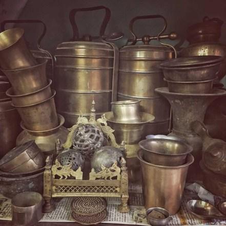 Brass antique wear, Karaikudi, Chettinad