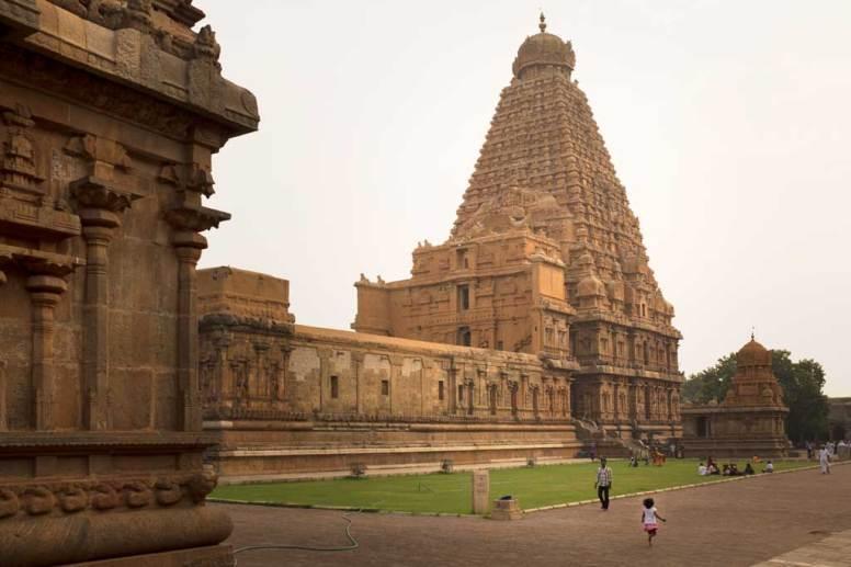 Temple grounds, Brihadisvara Temple, Thanjavur.