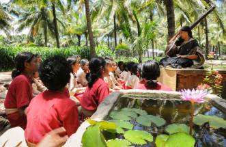 Isha Yoga Centre in Coimbatore traditional arts classes