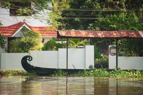 Green Palms Homestay in Chennamkary, Kerala Backwaters.