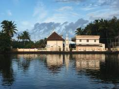 The Keralan Backwaters, Chennamkary.