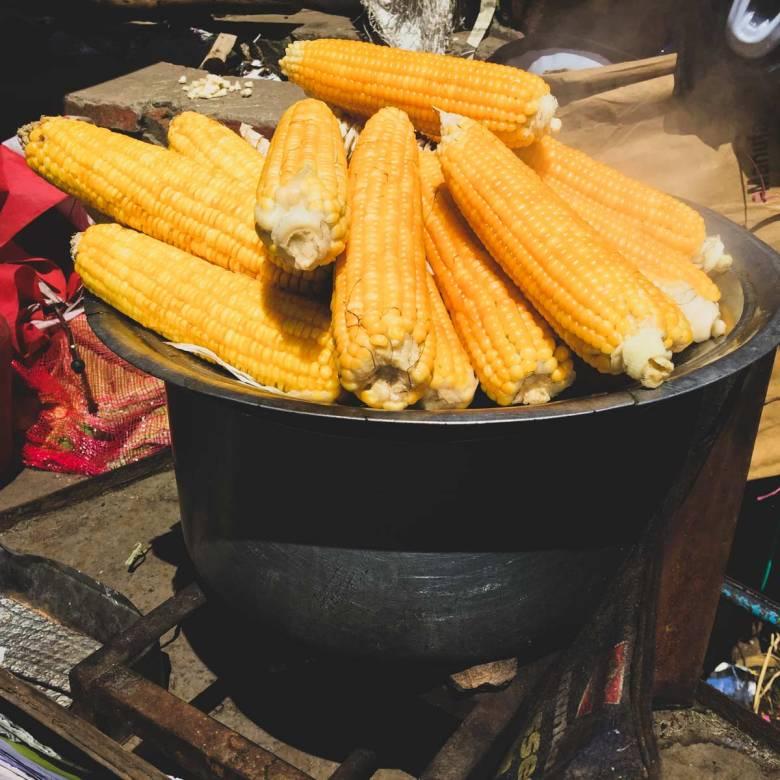 Corns on the cob