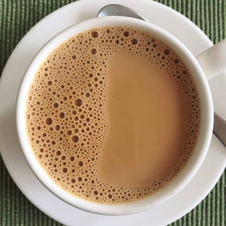 Creamy Cardamom Tea