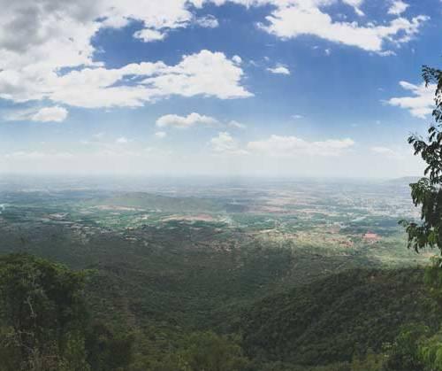Nilgiri Hills vista
