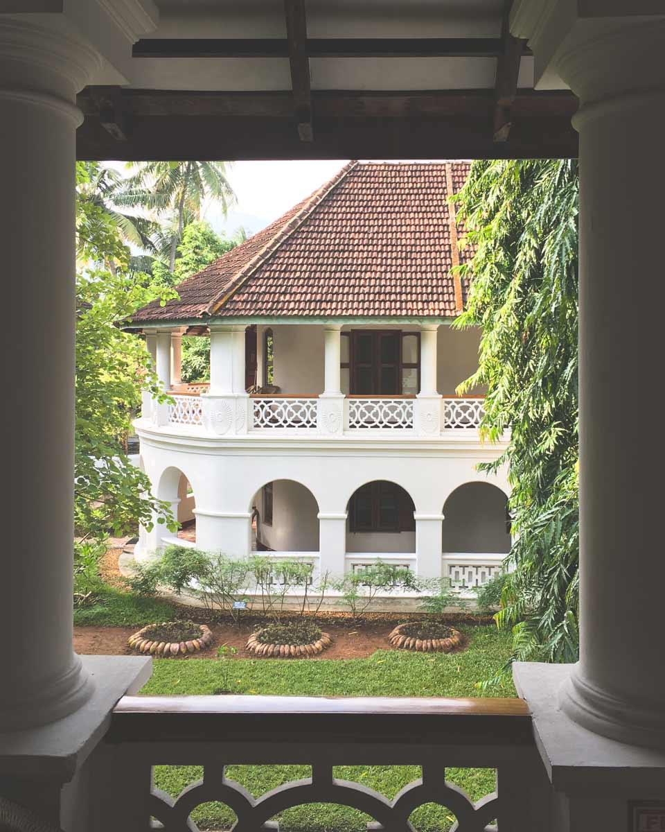 Kalari Kovilakom balcony view