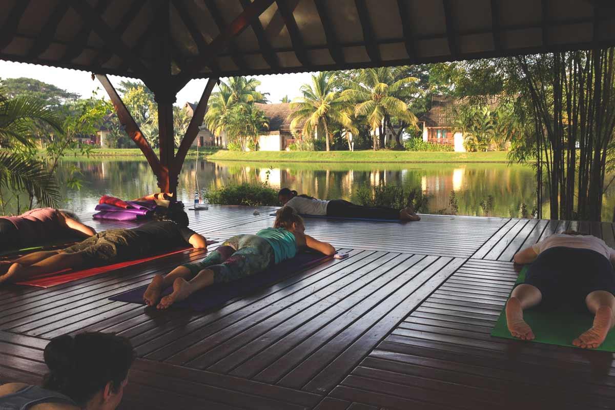 Zuri Kumarakom yoga platform