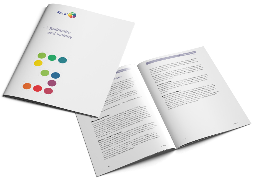 Facet5 Reliability and validity brochure