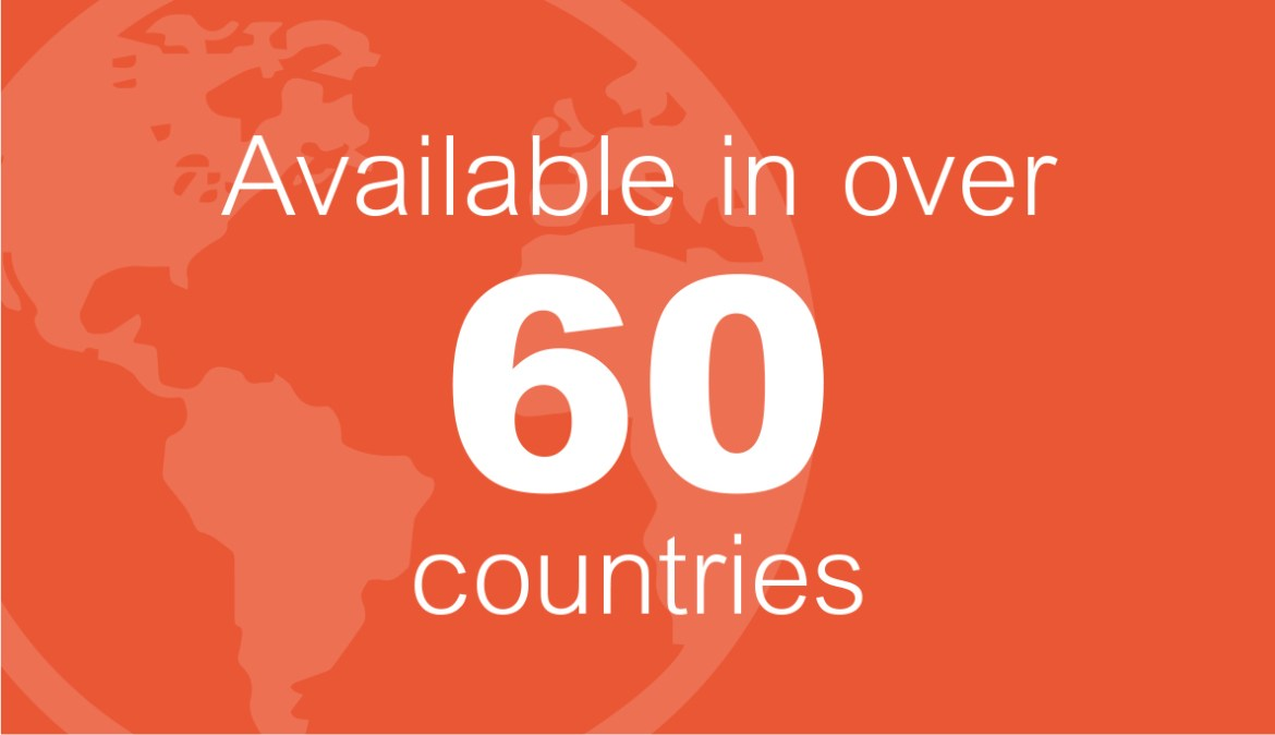 Facet5 is available in over 60 countries