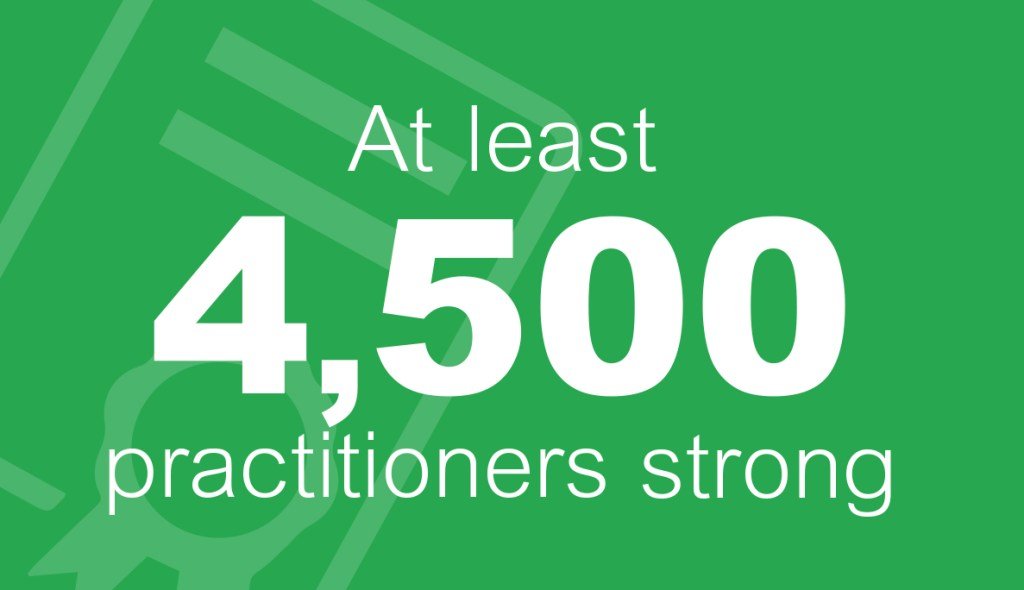 Facet5 has 4,500 accredited practitioners world wide