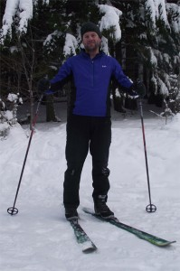 Rab Vapour Rise Top - Nordic Skiing.
