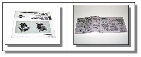 briggs and stratton reparaturhandbuch cat 5 telefon 92500 132900 betriebsanleitung