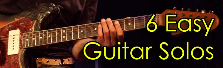Easy Guitar Solos For Beginners