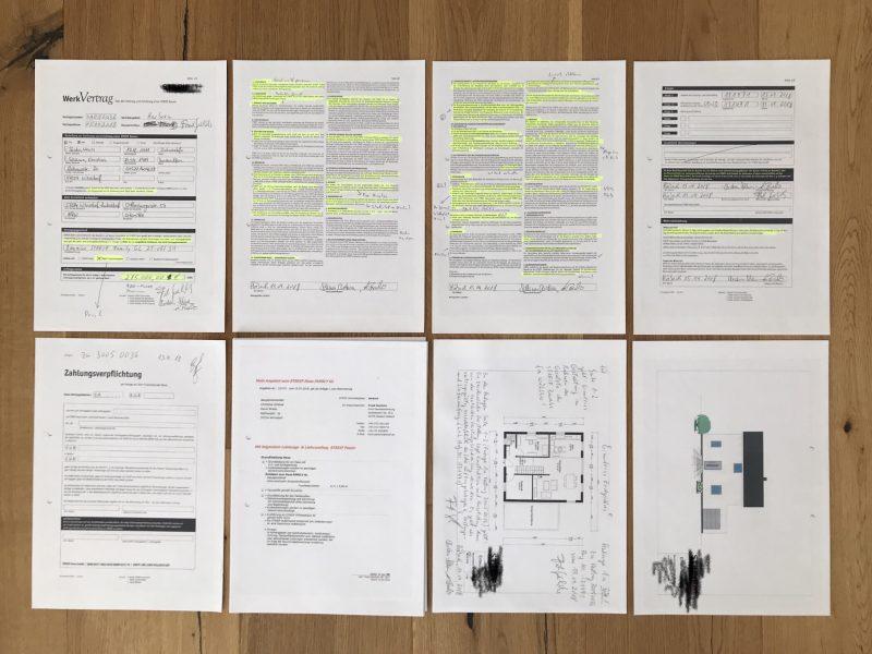 Huf Haus Werkvertrag