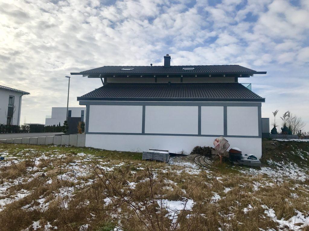 KD-Haus Seitenansicht : Garage