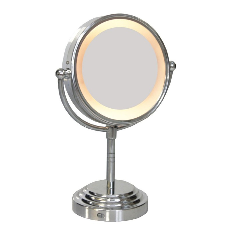 Miroir Grossissant Double Face Lumineux
