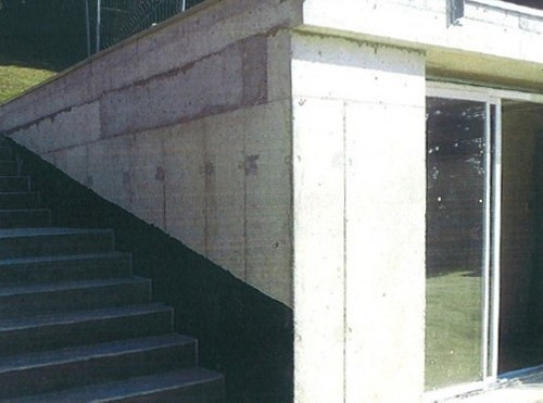 extension maison béton