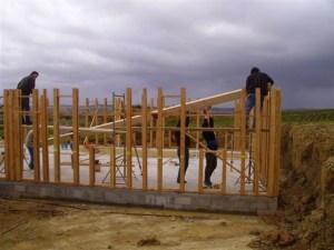 maison bois isère construction