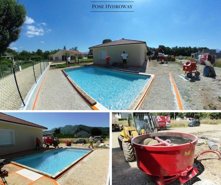 Terrasse plage de piscine Hydroway Isère Drôme 2