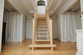 maison bois moirans isère escalier