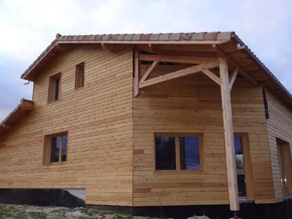 maison ossature bois voiron Isère