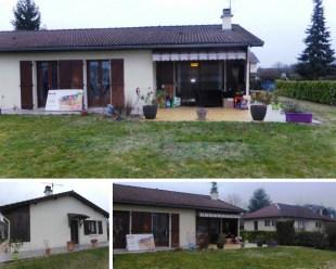 Extension toiture terrasse Saint-marcellin Isère 38