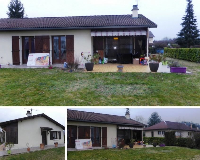 extension maison pilotis maison ossature bois avec terrasse menuiseries bois baies vitres bois. Black Bedroom Furniture Sets. Home Design Ideas
