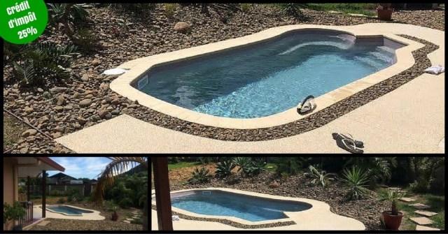 terrasse plage piscine drainante Isère Drôme