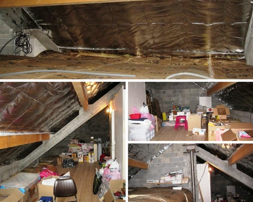 Aménagement comble Isère et isolation toiture Isère (avant)