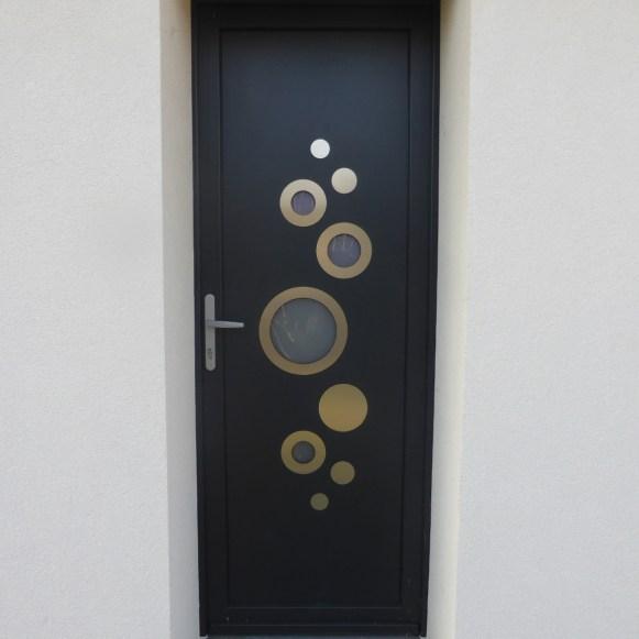 porte entrée pvc isère drôme