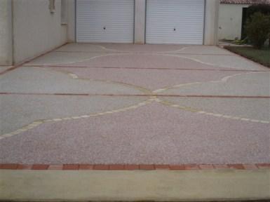 revêtement sol extérieur béton isère drôme