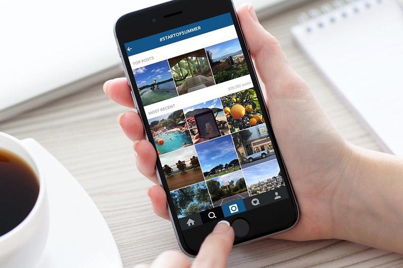 communication immobilière Instagram