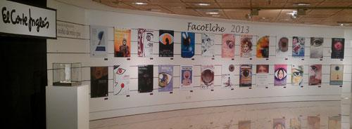 Exposición del concurso de carteles FacoElche 2013