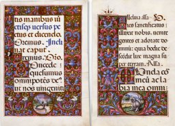 Missal of the Nativity, f. 16r e f. 22v