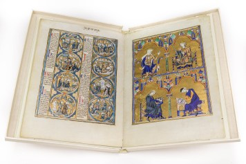 The ADEVA Normal Edition reproduces the fragment of 8 folios bound in a so parchment-like paper binding