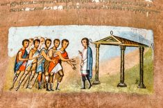 Detail from the Vienna Genesis