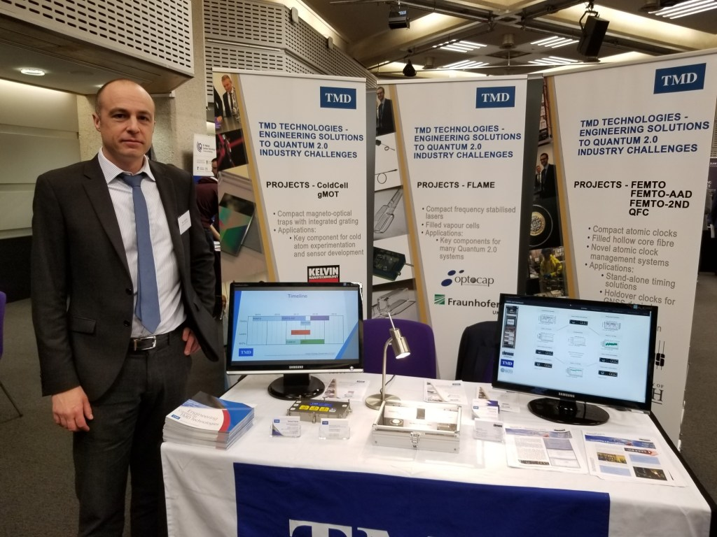 TMD at the UKNQT Showcase 2017