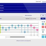 IBM Q Experience - Quantum Composer. Credit: IBM Q