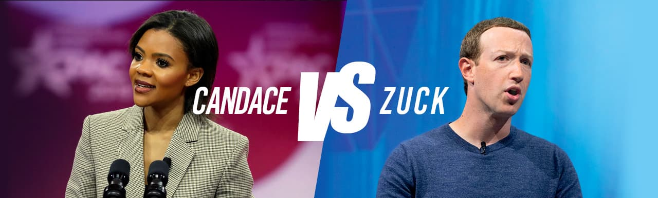 Candace Owens vs Mark Zuckerberg