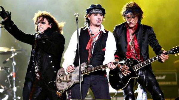 Johnny Depp Hollywood Vampires Band