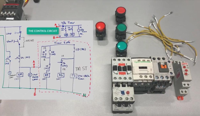 Delta Run Motor Starter Wiring Diagram On Delta Starter Wiring