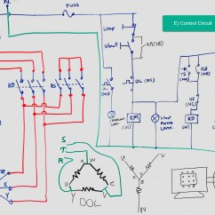 Actual Photo Of Control Wiring Diagram Star Delta Starter Solar Diagrams The Beginner 39s Guide To A Circuit