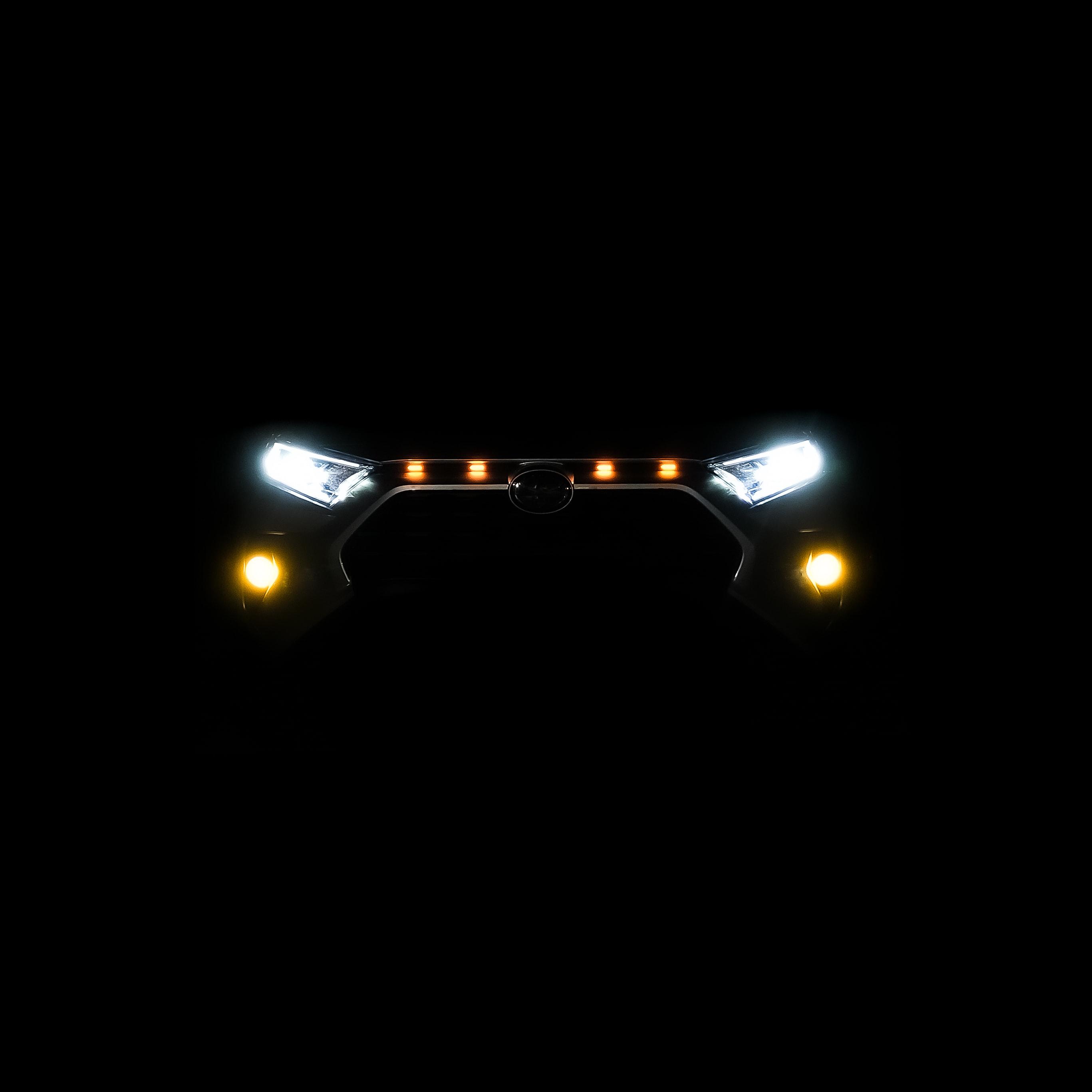 rav4 grille lights amber