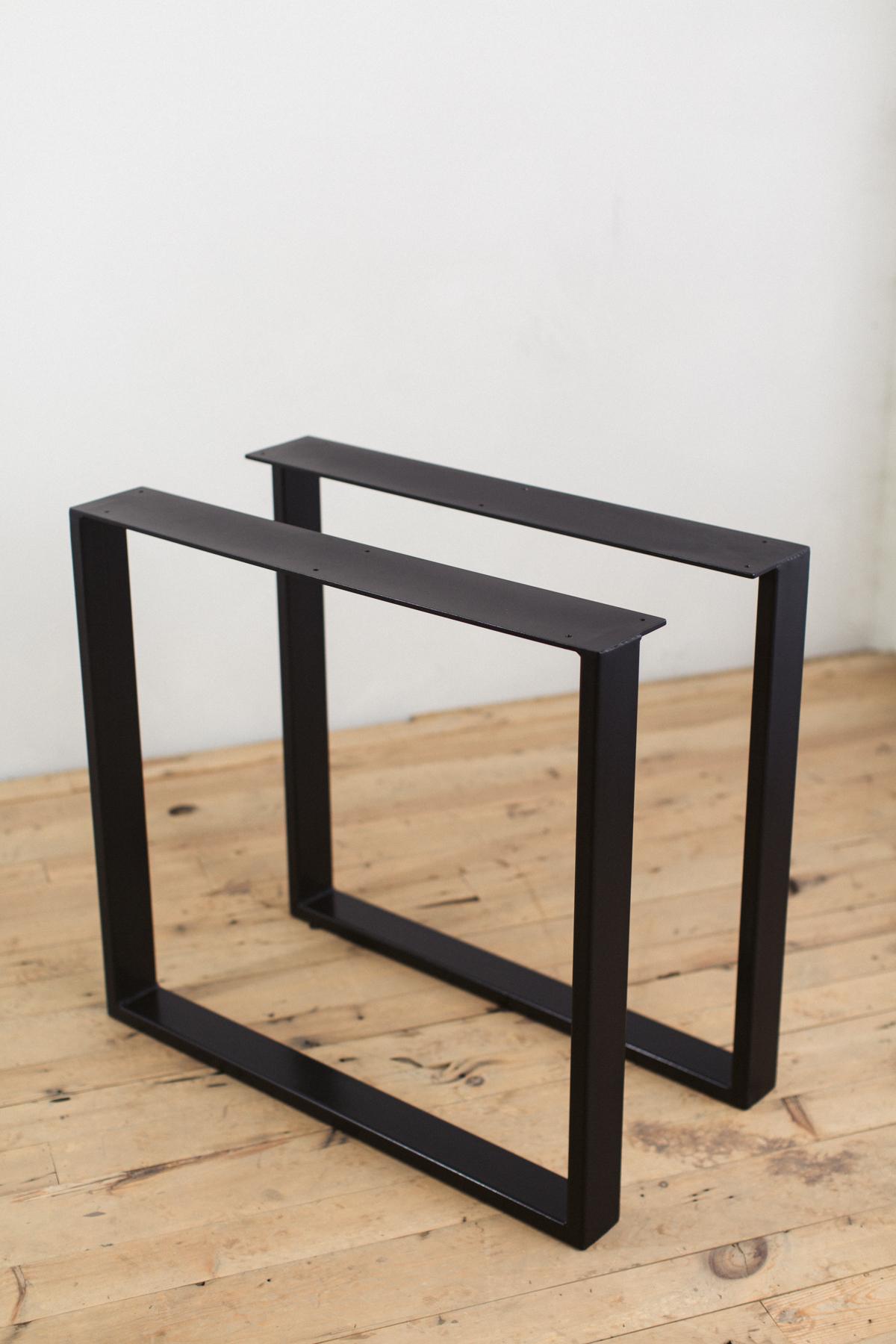 steel chair olx teal blue powder coated u shape table legs factor fabrication