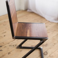 Chair And Steel Vermont Wooden Rocking Chairs Walnut Raw Z Factor Fabrication