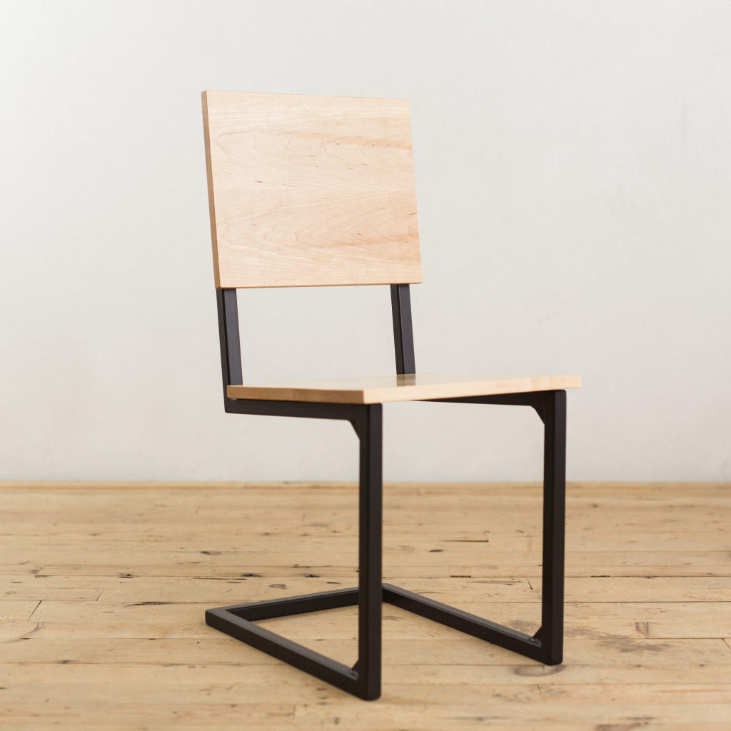 Maple And Steel SchoolHouse Chair Factor Fabrication