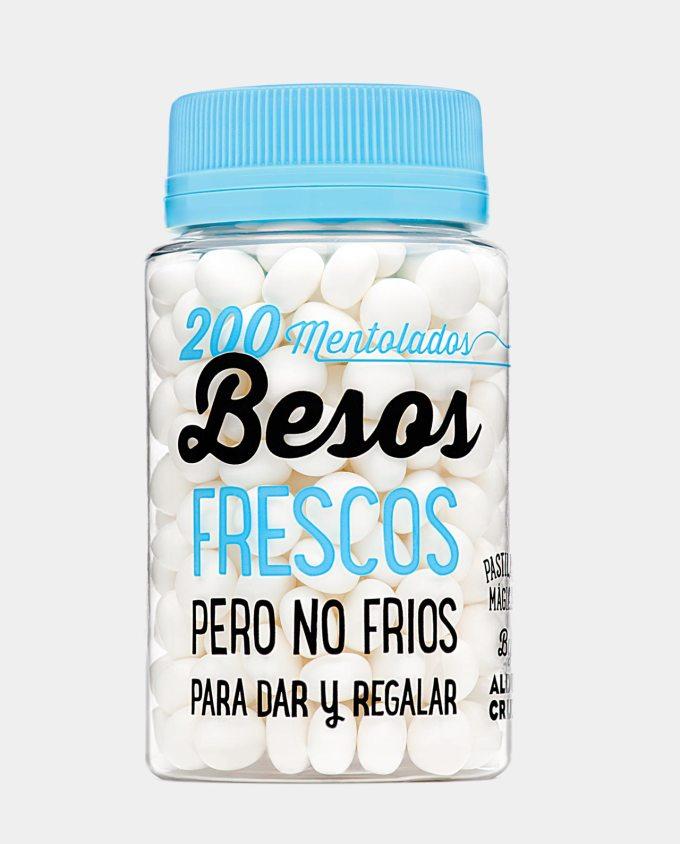 200 mentolados Besos Frescos de Aldo Cruz