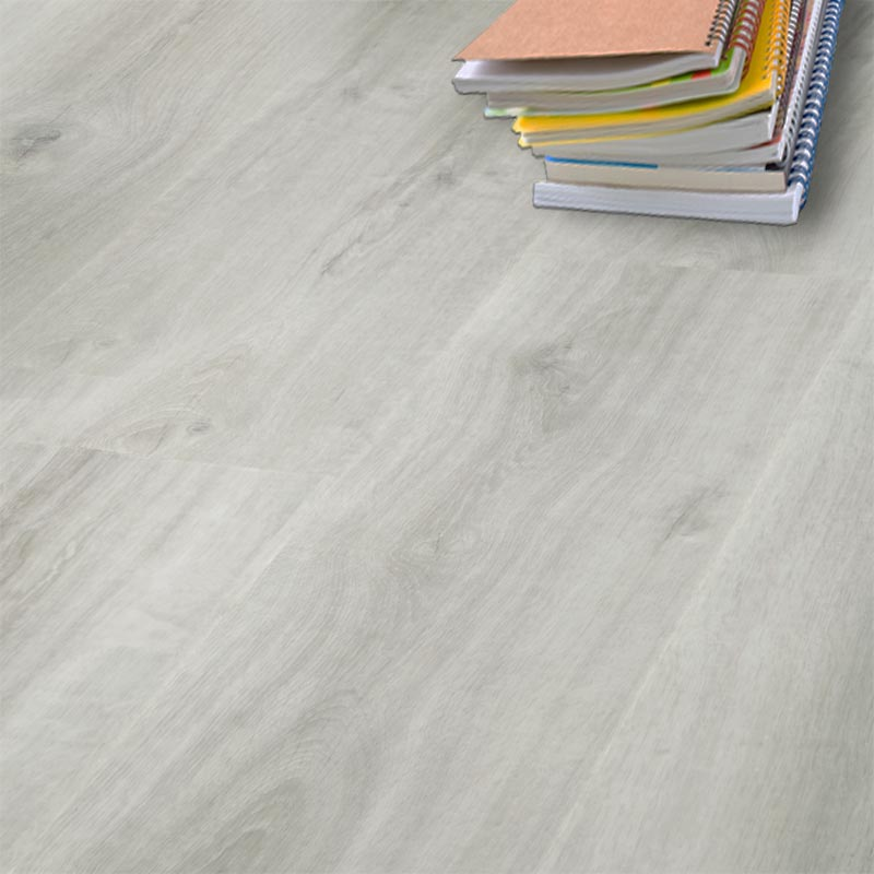 Aqua Plank Snowy White Oak Click Vinyl Flooring 24137